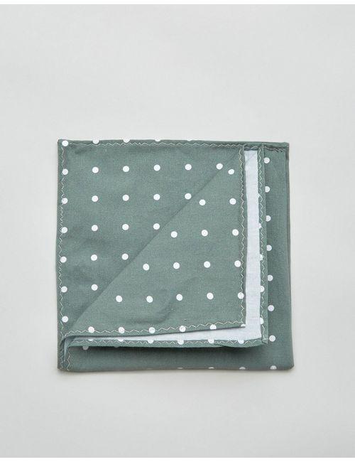 Jack & Jones | Зелёный Платок-Паше В Горошек Зеленый