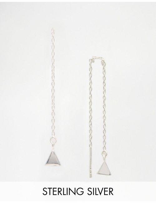 Asos | Серебряные Серьги-Треугольники