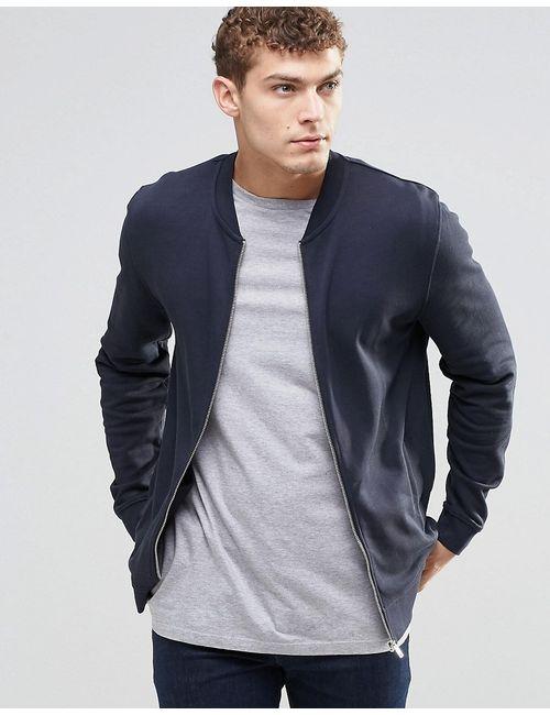 Asos | Синяя Темно-Синяя Куртка-Пилот