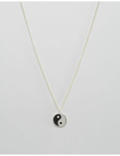 Asos | Ожерелье Ying Yang