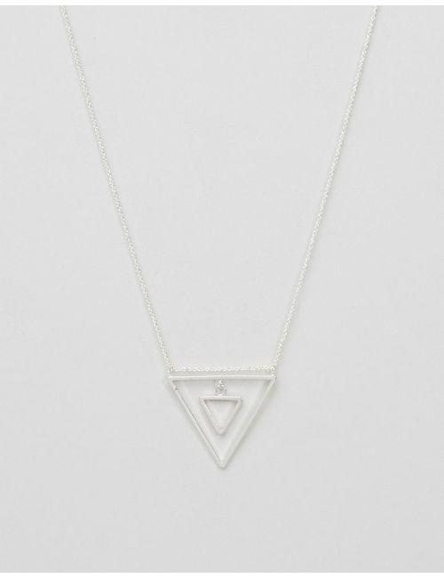 NYLON | Серебряное Ожерелье Серебряный