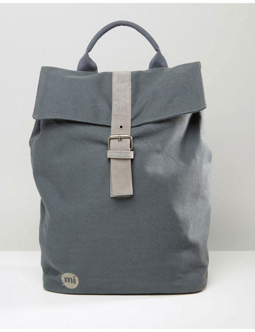 MI-PAC | Серый Серый Холщовый Рюкзак Серый