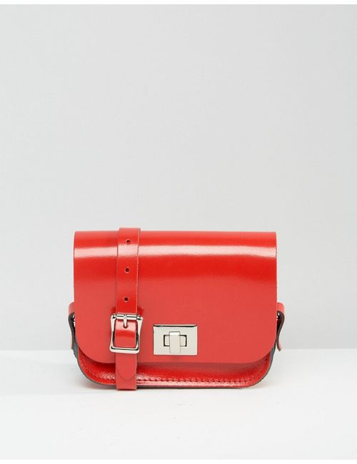 Leather Satchel Company | Сумочка Через Плечо The Лакированная Красного Цвета