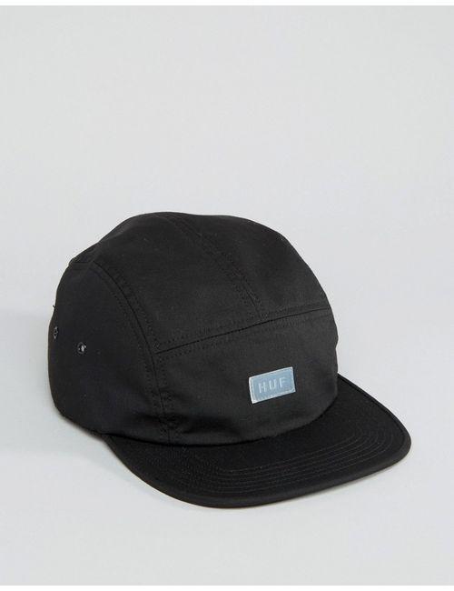 Huf | Чёрная Кепка С Логотипом Bar Volley Черный
