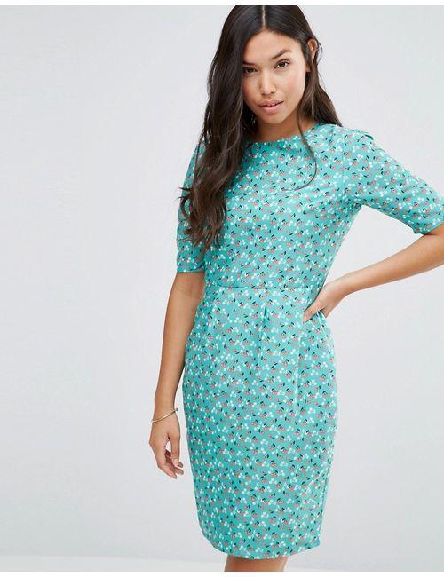 Sugarhill Boutique | Женское Зелёное Платье Very Cherry