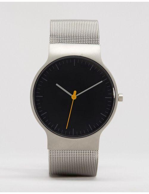 Braun | Мужские Классические Часы С Серебристым Сетчатым Ремешком И