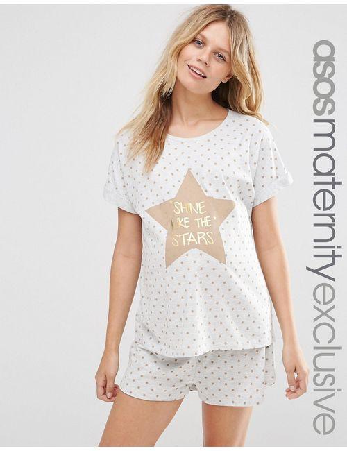 ASOS Maternity | Пижама Для Беременных Shine Like The Stars