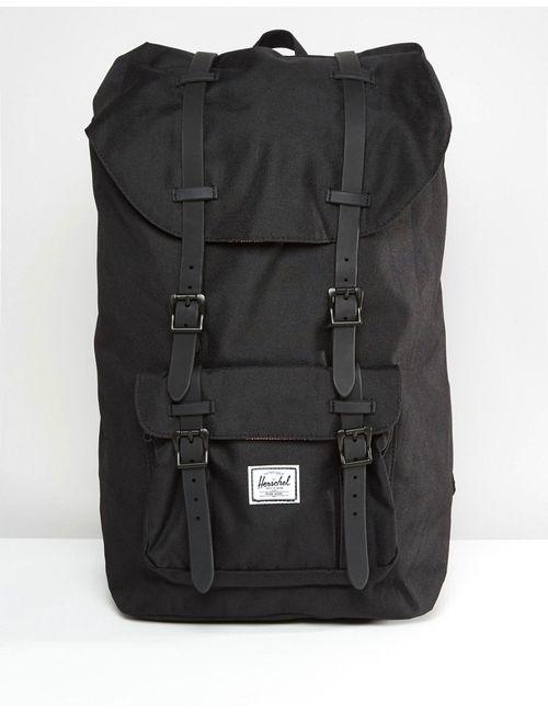 Herschel Supply Co. | Чёрный Черный Рюкзак Herschel Supply Co Little America