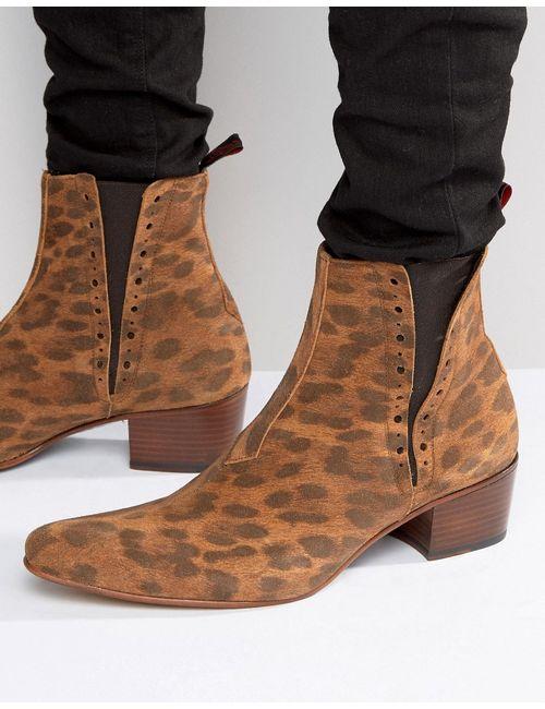 Jeffery west | Мужские Рыжие Замшевые Ботинки Челси Murphy Рыжий