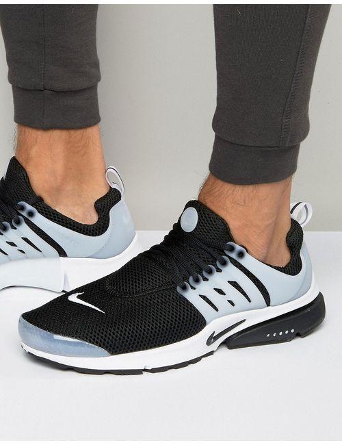 Nike | Мужские Чёрные Черные Кроссовки Air Presto 848132-010 Черный