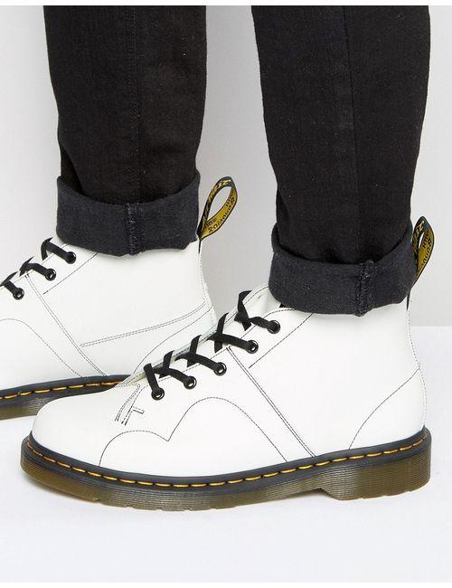 Dr. Martens | Мужские Белые Ботинки Dr Martens Church Monkey Белый