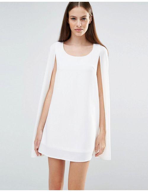Lavish Alice | Белое Цельнокройное Платье-Накидка