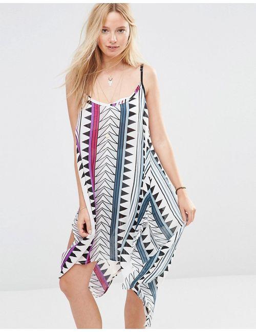 Anmol | Многоцветное Пляжное Платье Мини С Принтом Мульти