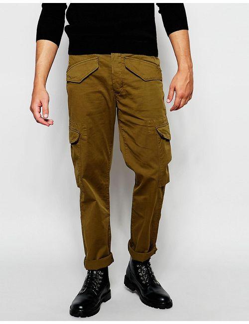 Paul Smith Jeans | Мужские Зелёные Брюки Карго Зеленый