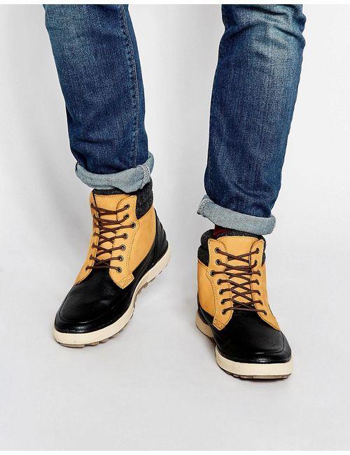 Aldo | Мужские Бежевые Кожаные Ботинки Kepano Бежевый