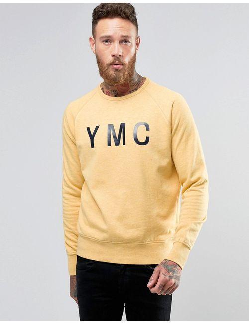 YMC | Жёлтый Свитер С Логотипом Желтый