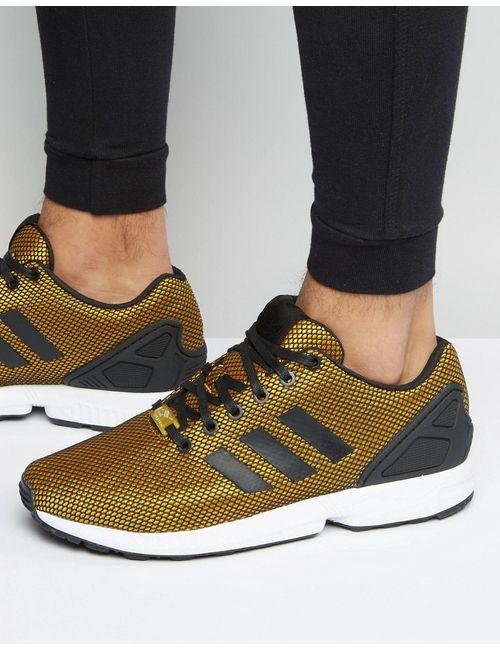 adidas Originals | Мужские Золотые Золотистые Кроссовки Zx Flux S32275 Золотой