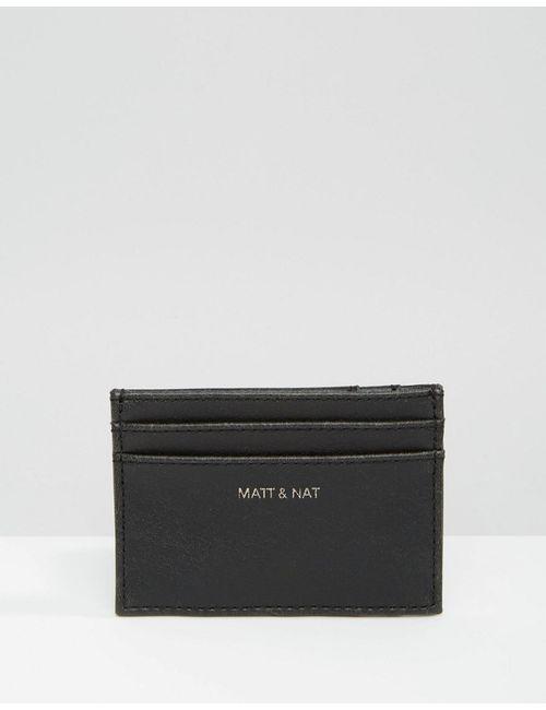 MATT & NAT   Визитница Max Черный