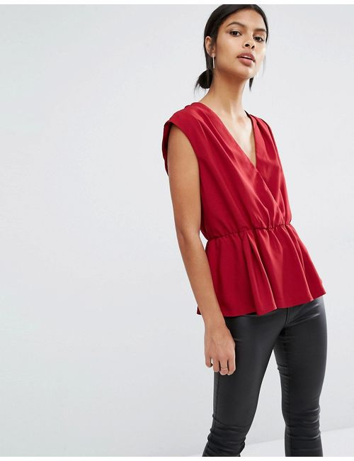 Y.A.S. | Y.A.S Amber Sleeveless Top Rhubarb
