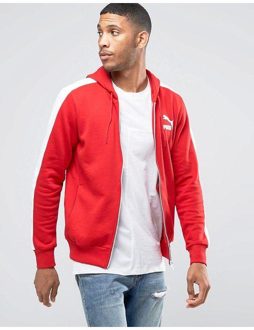 Puma | Мужская Красная Ветровка 57151807 Красный