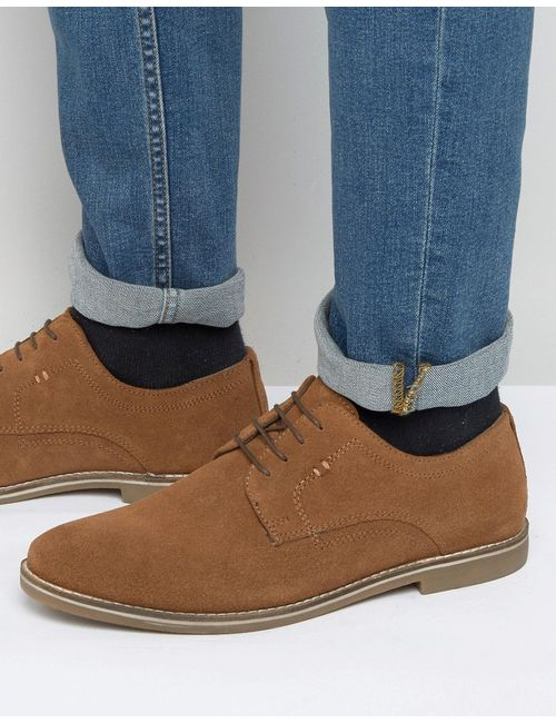 Red Tape | Derby Shoes In Beige Suede Бежевый