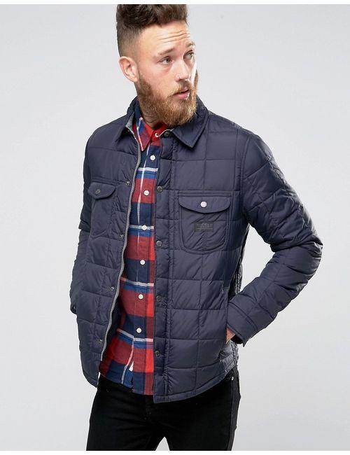 Lee | Темно-Синяя Стеганая Куртка В Стиле Рубашки Navy