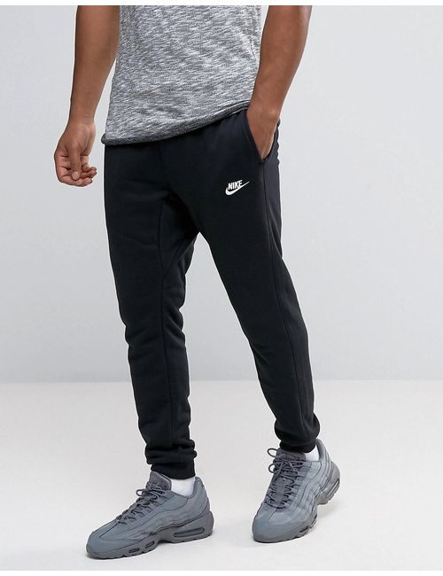 Nike | Черные Зауженные Джоггеры 804465-010 Черный
