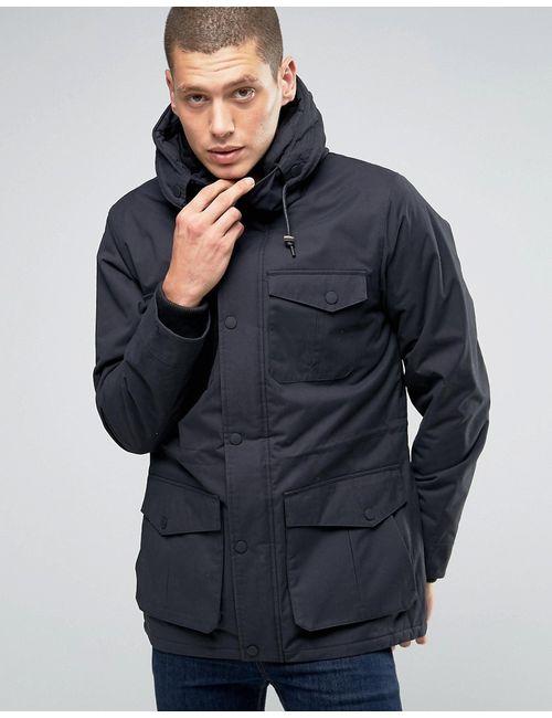 Brave Soul | Мужская Куртка С Капюшоном И Карманами Premium Темно-Синий