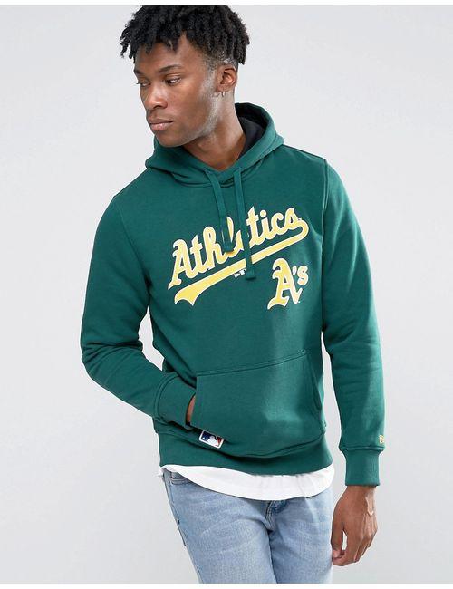 New Era | Мужские Худи Oakland Athletics Зеленый
