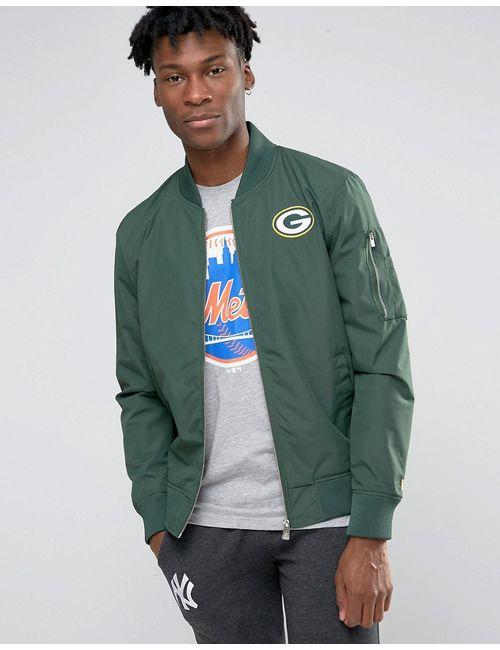 New Era | Куртка-Пилот Packers Зеленый