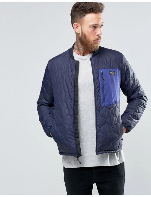 Penfield | Легкая Стеганая Куртка-Пилот Oakdale Темно-Синий
