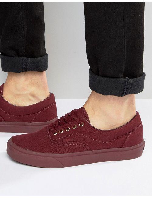 Vans | Мужские Красные Парусиновые Кеды Era V003z5jrr Красный