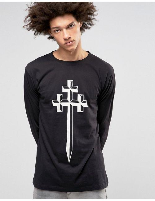LONG CLOTHING | Лонгслив Steel Черный