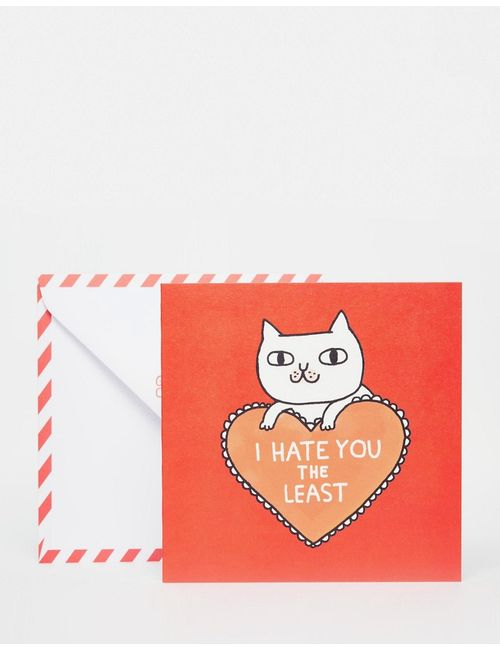 OHH DEER | Открытка Gemma Correll Hate You Мульти