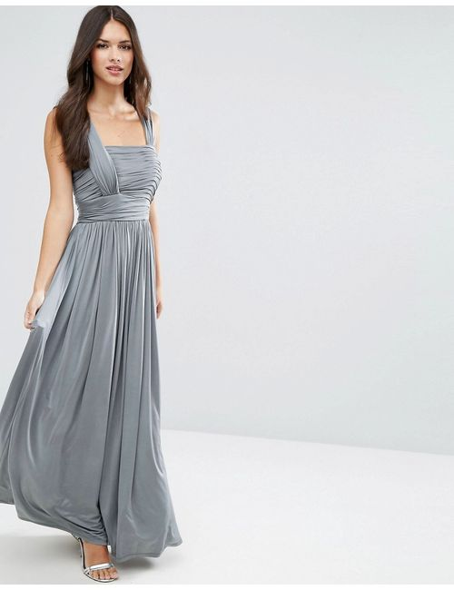 Asos | Женское Платье Макси Со Сборками Wedding