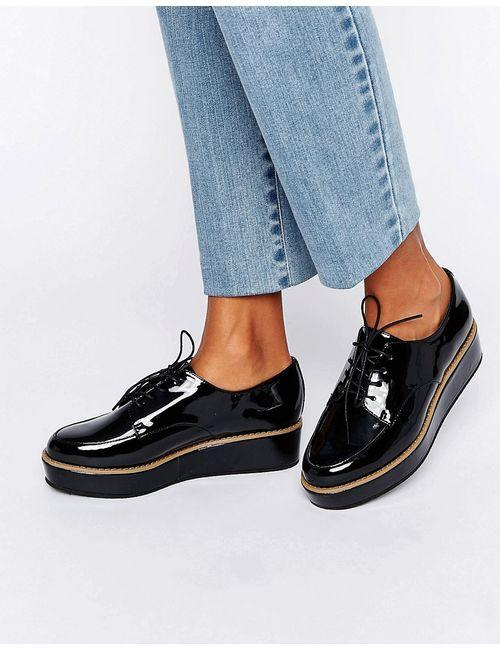Asos | Женские Туфли На Шнуровке И Плоской Платформе Mavis