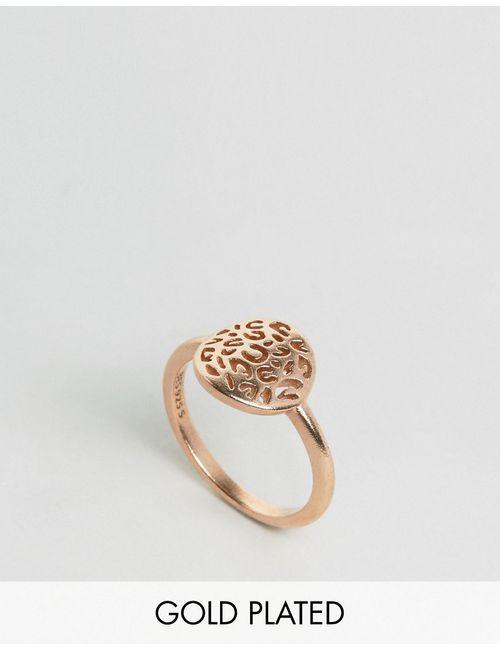 Pieces | Женское Кольцо С Покрытием Из Розового Золота Julie