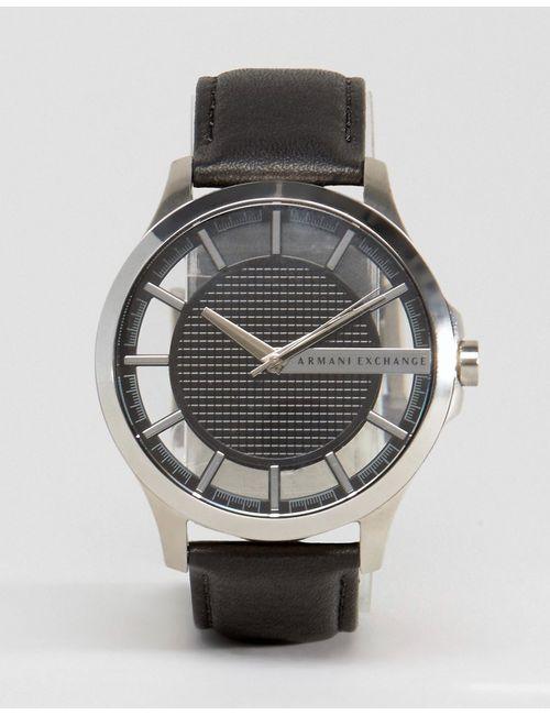 ARMANI EXCHANGE | Мужские Часы С Черным Кожаным Ремешком Ax2186