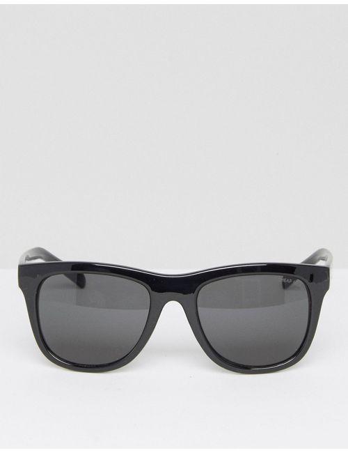Cheap Monday | Черные Солнцезащитные Очки С Плоским Верхом Черный