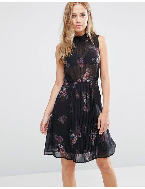 SuperTrash | Женское Платье Без Рукавов С Цветочным Принтом Dise