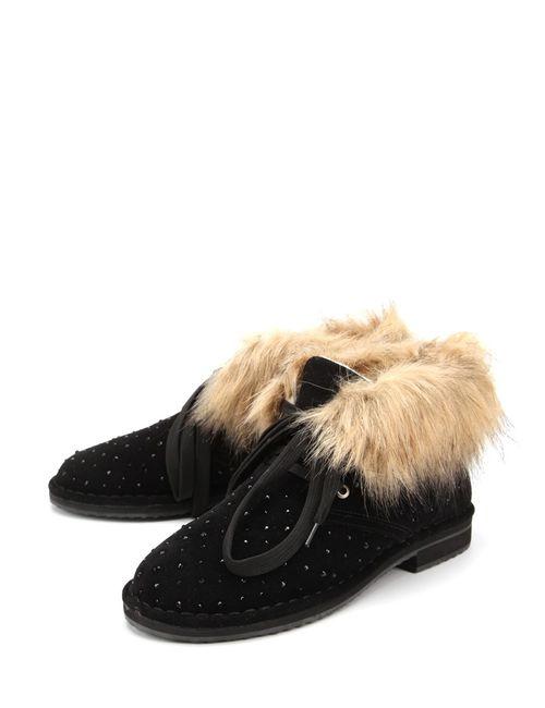Betsy   Женские Чёрные Ботинки