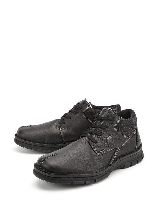 Rieker   Мужские Чёрные Ботинки