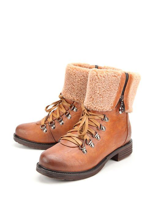 Spur | Женские Коричневые Ботинки
