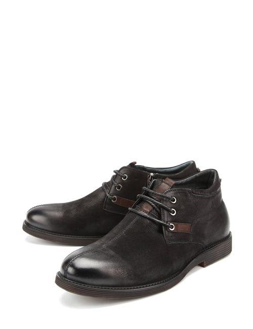 ID! | Мужские Чёрные Ботинки