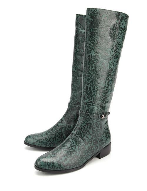 KARELLA   Женские Зелёные Сапоги