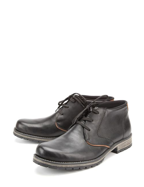 Rieker | Мужские Чёрные Ботинки