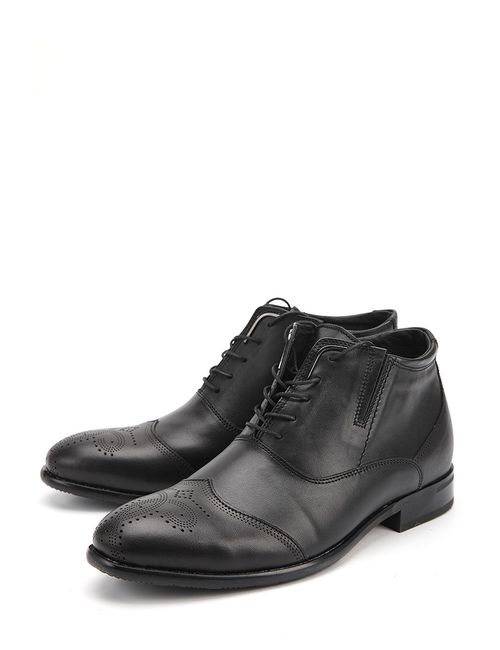 Black Bull | Мужские Чёрные Ботинки