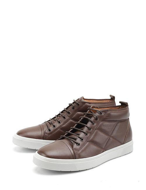 Lido Marinozzi | Мужские Коричневые Ботинки