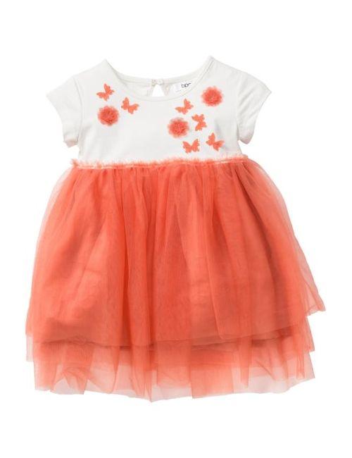 bonprix   Женское Розовое Платье Из Тюля Размеры 80-134