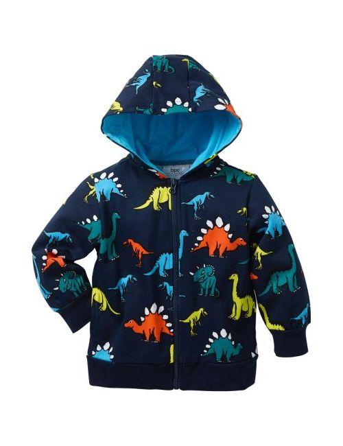 bonprix | Мужская Серая Трикотажная Куртка С Капюшоном Размеры 80/86-128/134